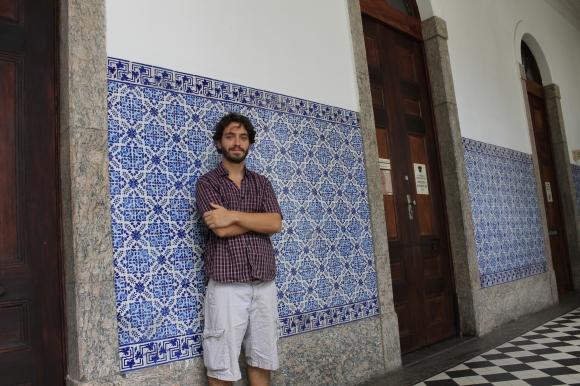 Patrick, morador da região e idealizador do Porto Brasilis, é pesquisador no Instituto de Economia da Universidade Federal do Rio de Janeiro (UFRJ)
