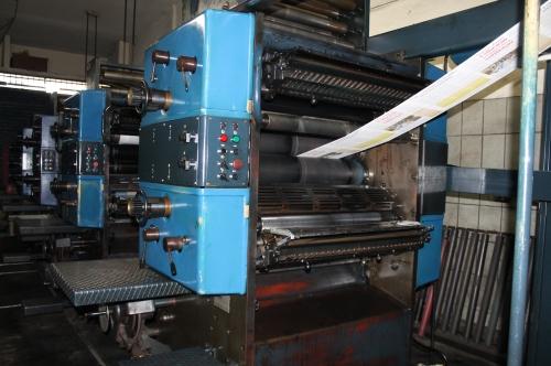 Máquina que veio da Suécia imprime em diferentes formatos