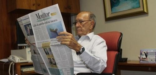 Acurcio de Oliveira dirige o Monitor Mercantil há 27 anos