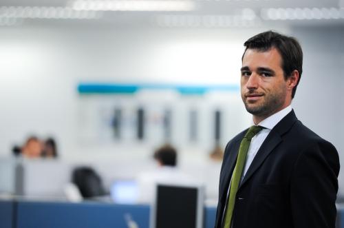 Vitor Hugo Pinto, gerente Nacional de Fundos Imobiliários da Caixa